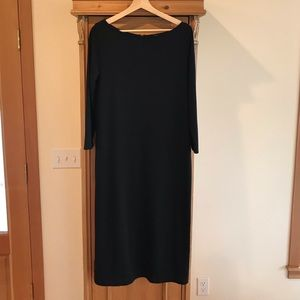 GAP | Black Dress with Exposed Zipper
